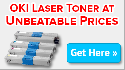 Buy now the high volume OKI toners at the lowest cost